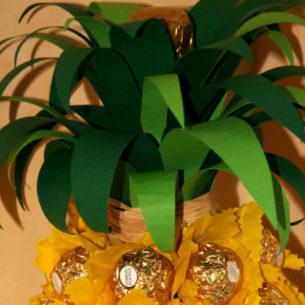 Ananas-spumante di cioccolatini