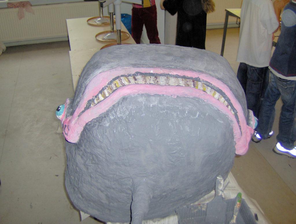 Balena di cartapesta 1
