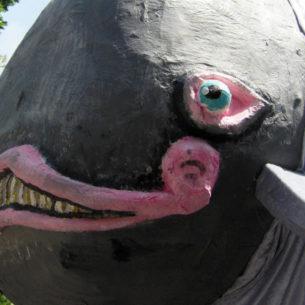 Balena di cartapesta 7