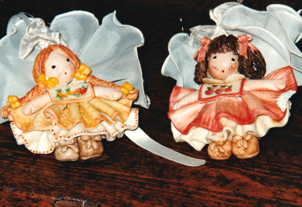 Bamboline bomboniere di pasta di sale 2
