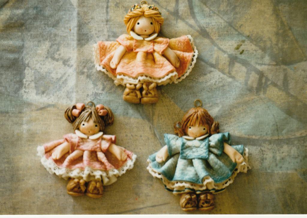 Bamboline bomboniere di pasta di sale 3