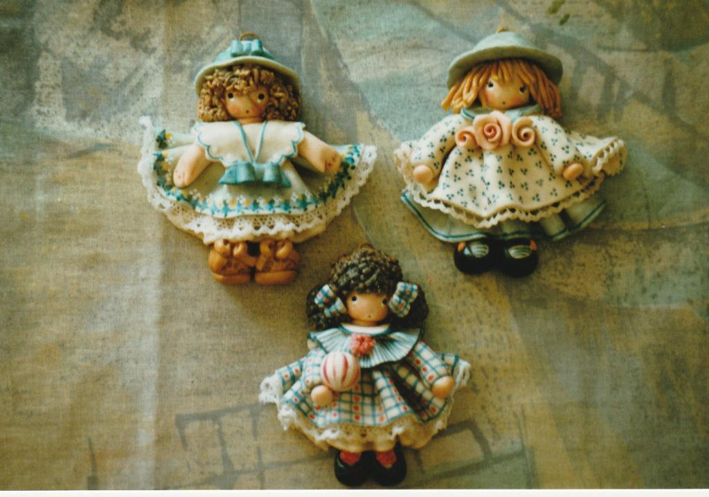 Bamboline bomboniere di pasta di sale 4