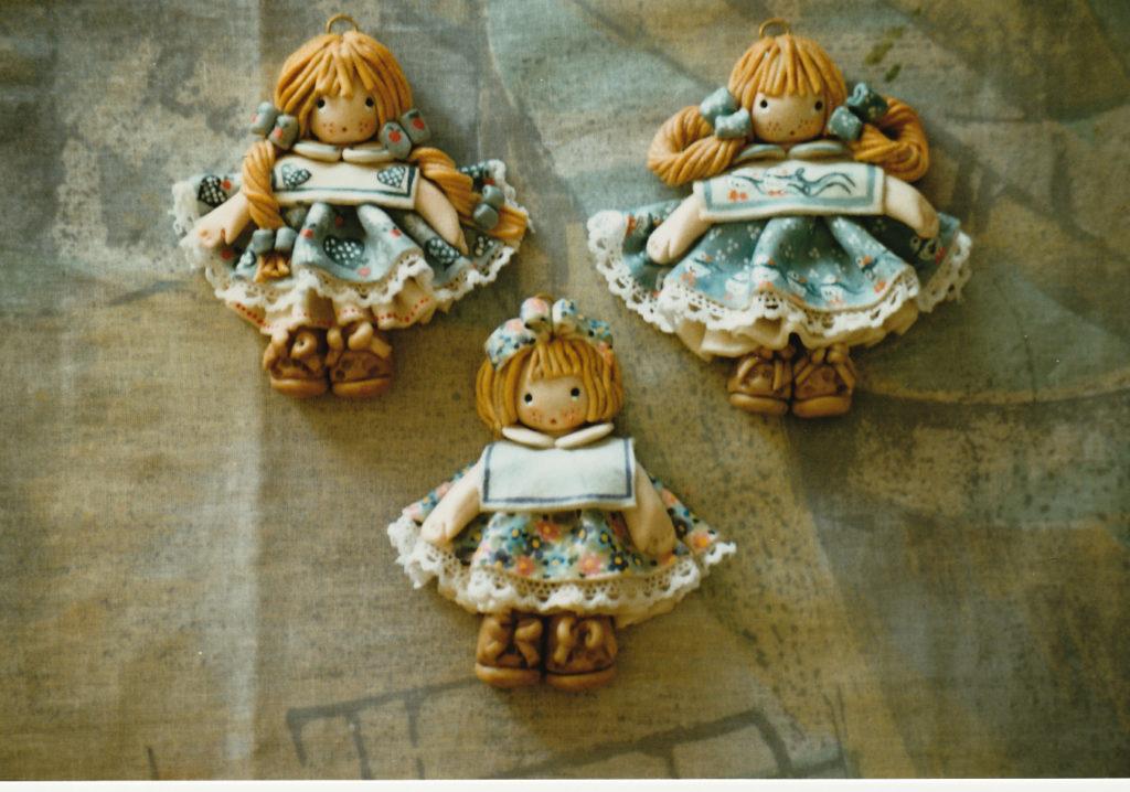 Bamboline bomboniere di pasta di sale 5