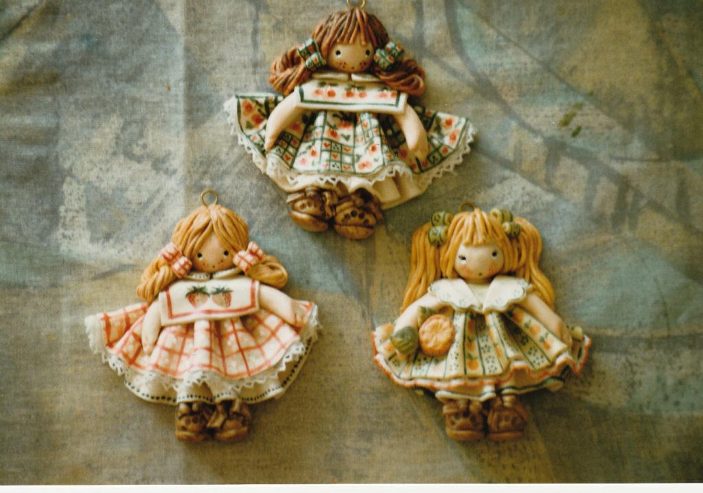 Bamboline bomboniere di pasta di sale 6