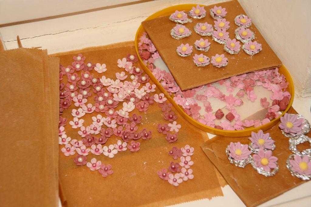 Bomboniere fiori di zucchero 03