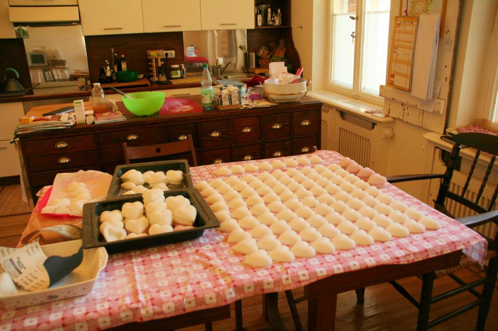 Bomboniere di zucchero decorate 04