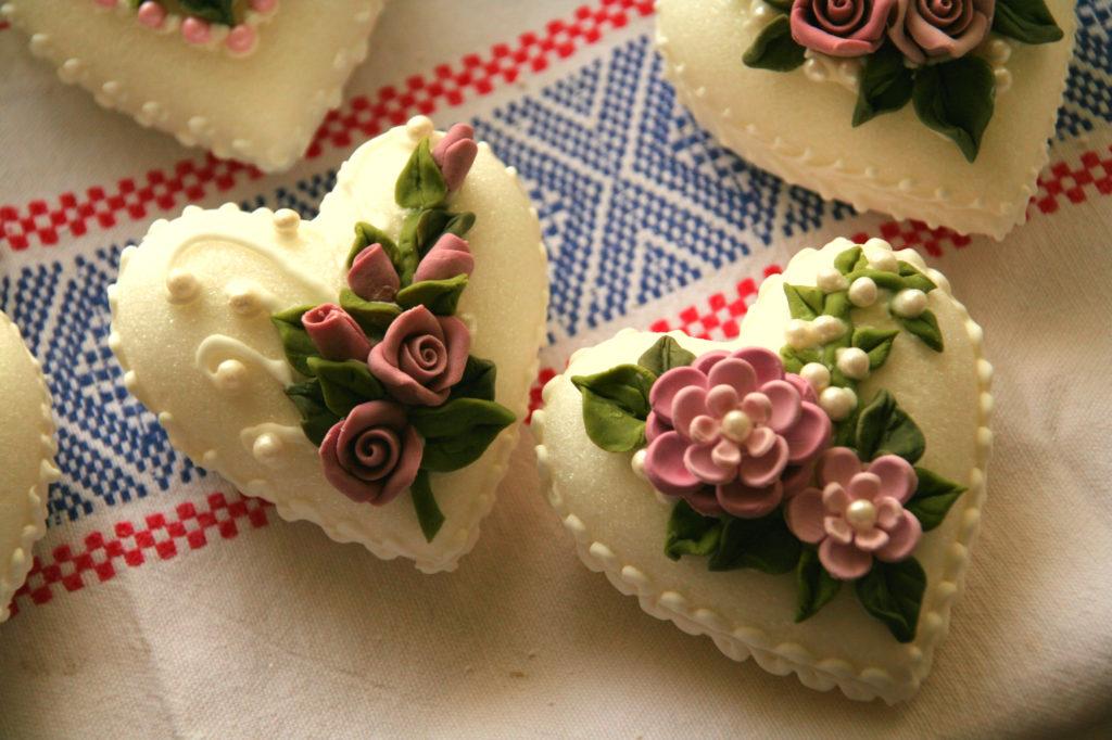 Bomboniere fiori di zucchero 12