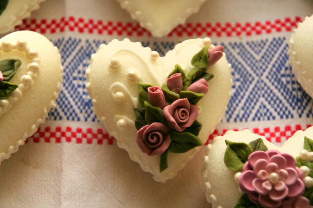 Bomboniere fiori di zucchero 13