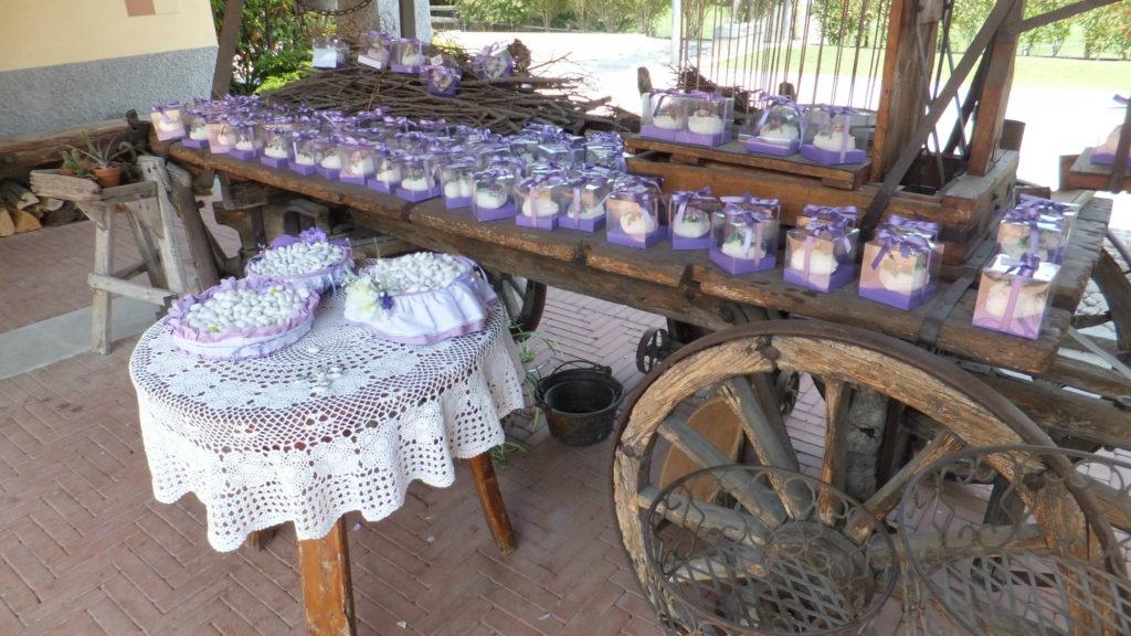 Bomboniere fiori di zucchero 31