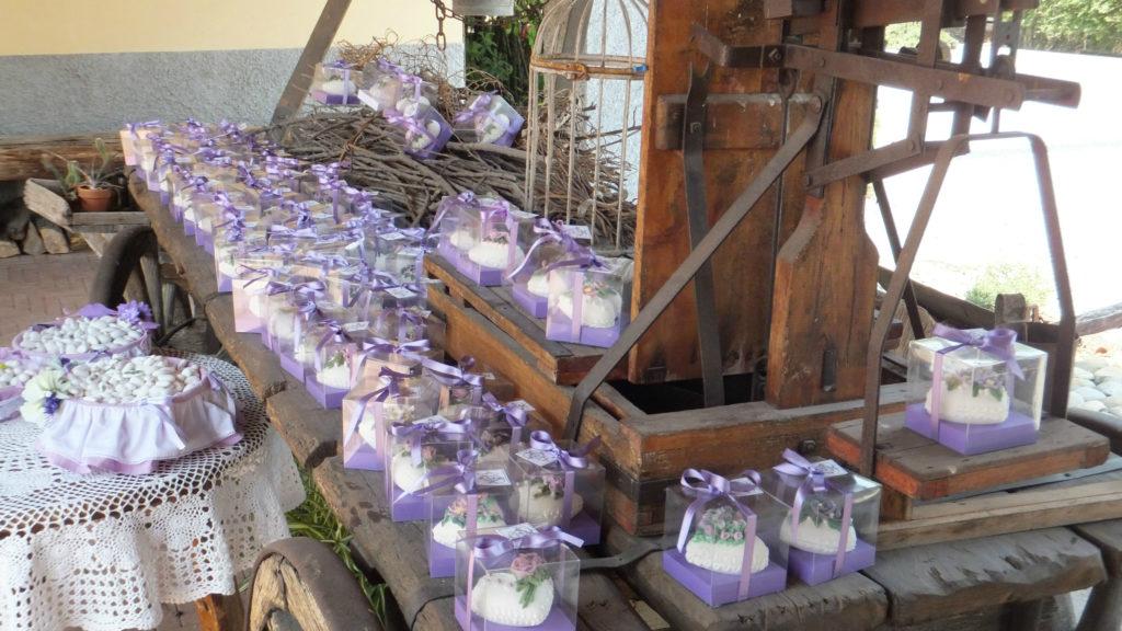 Bomboniere di zucchero decorate 32