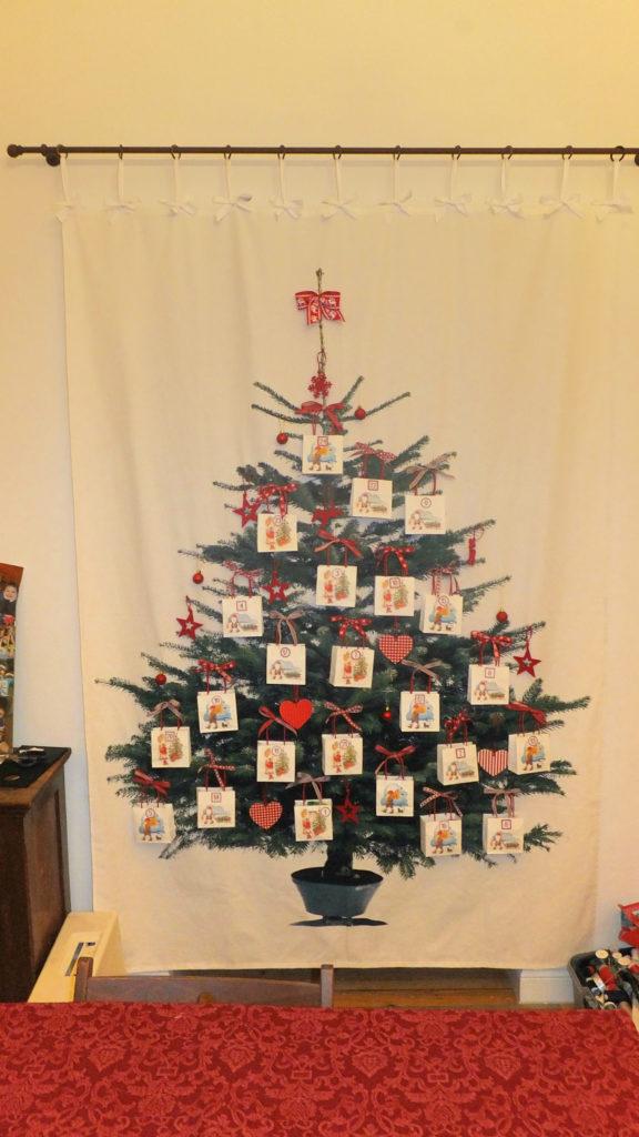 Calendario dell'Avvento - Albero di Natale