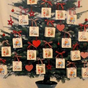 Calendario dell'Avvento - Albero di Natale 2