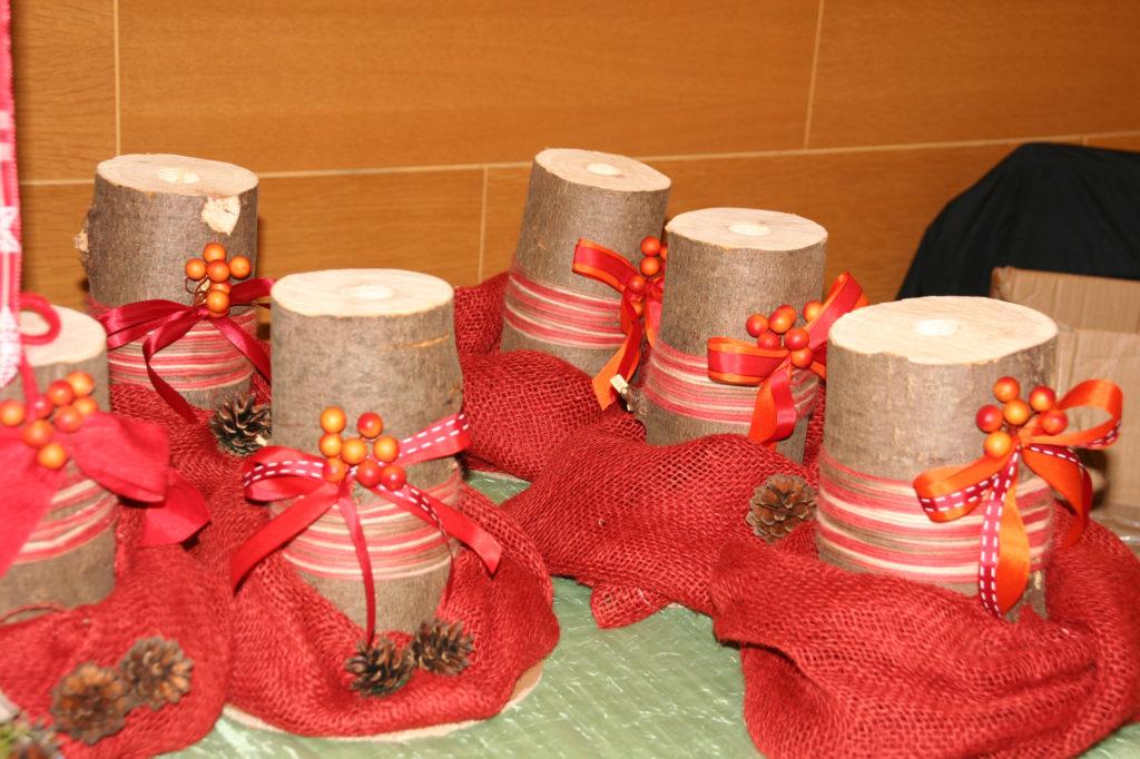 Centri tavola per candele