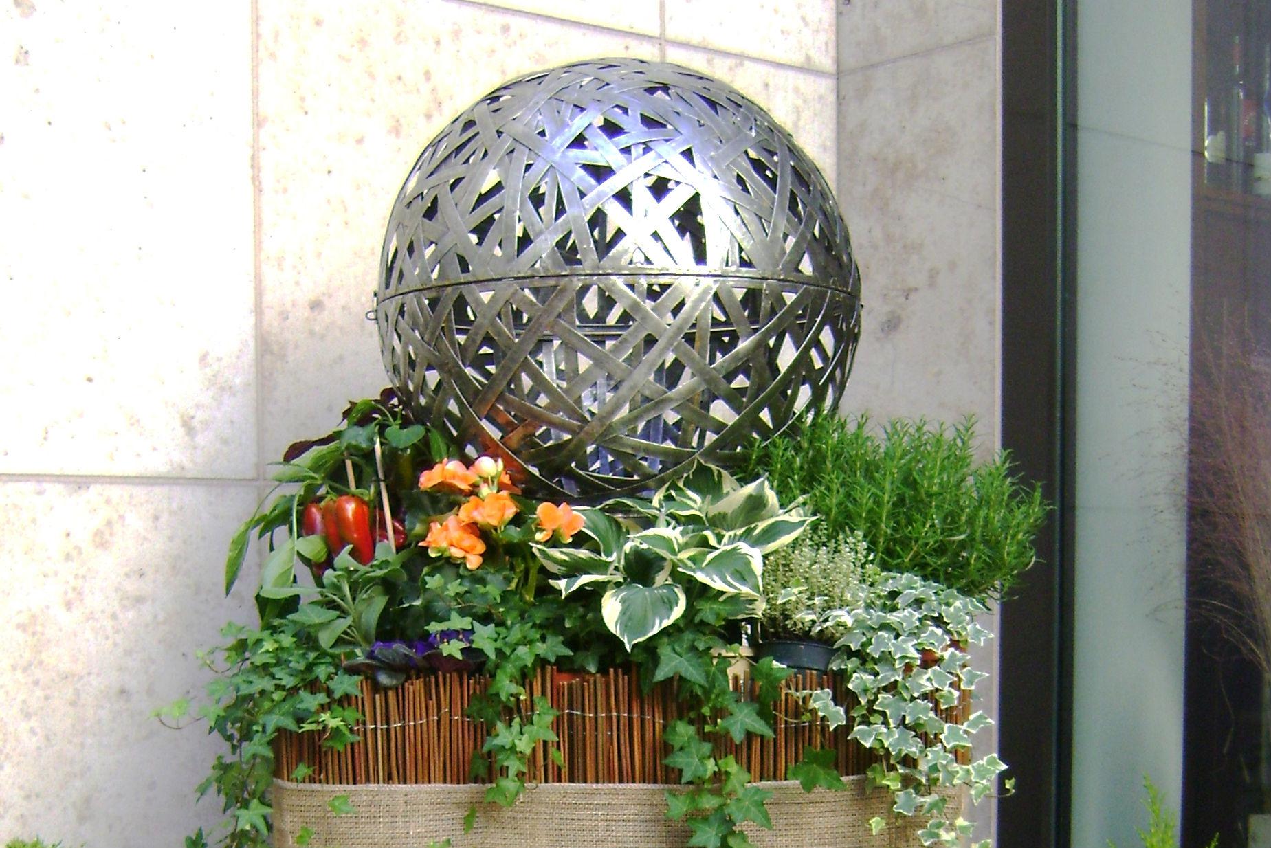 Cubo fiorito ristorante