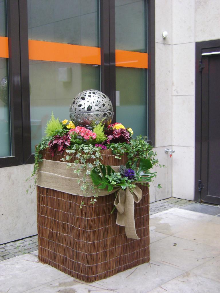 Cubo fiorito ristorante 1