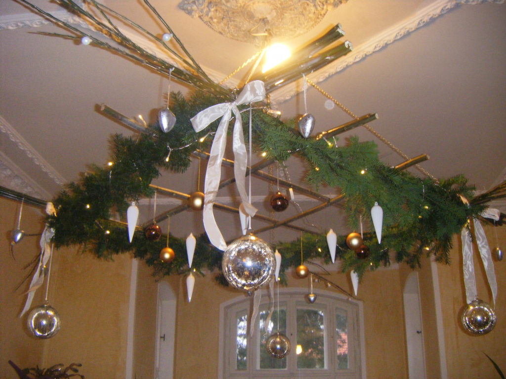 Lampadario di Natale