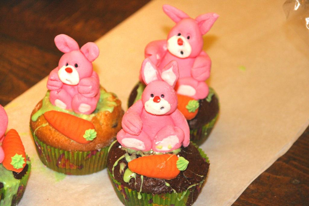 Muffins con simpatici animaletti