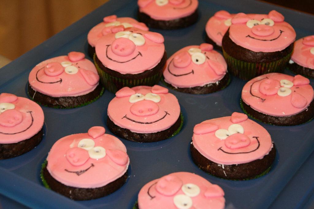 Muffins con simpatici animaletti 2