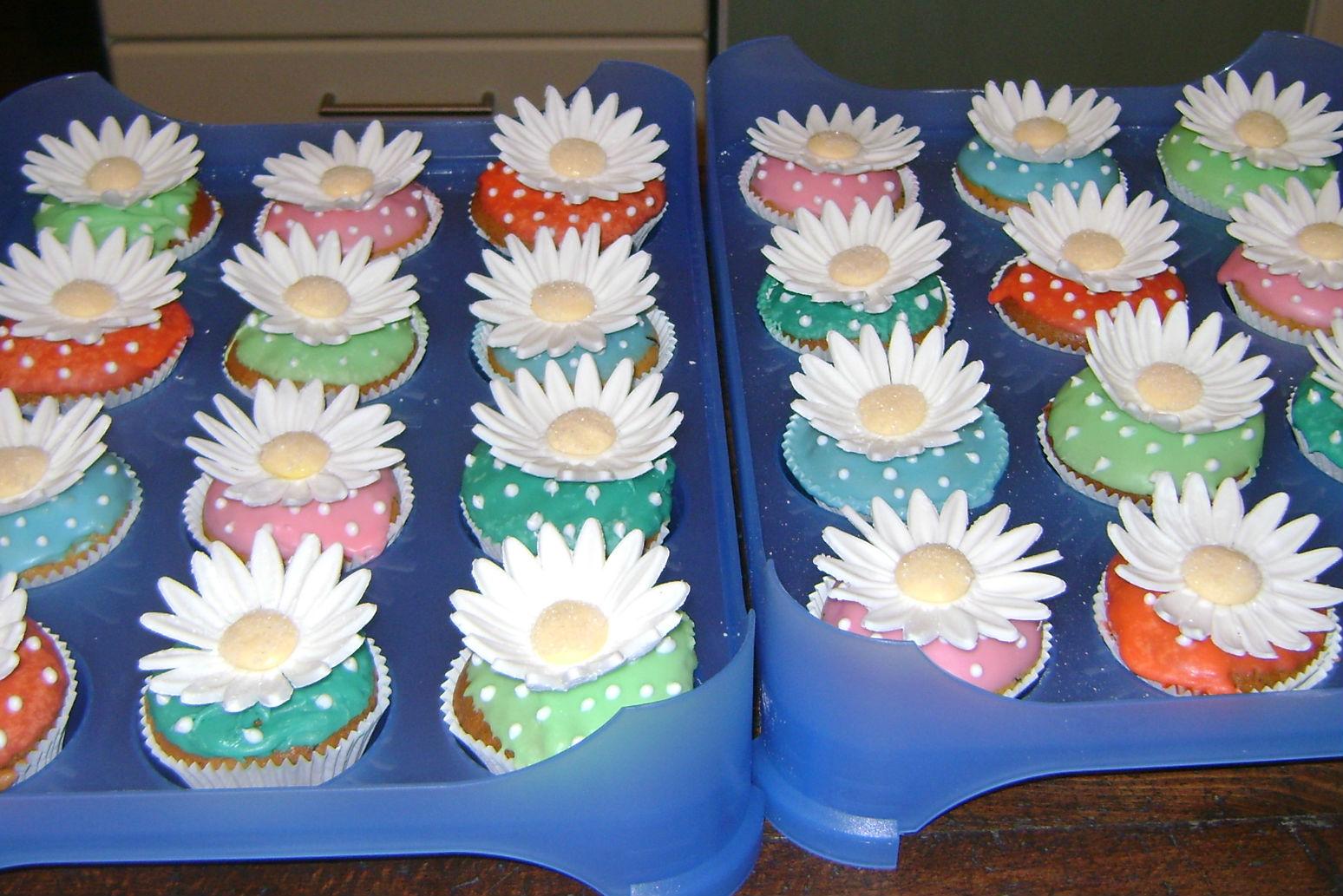 Muffin floreali