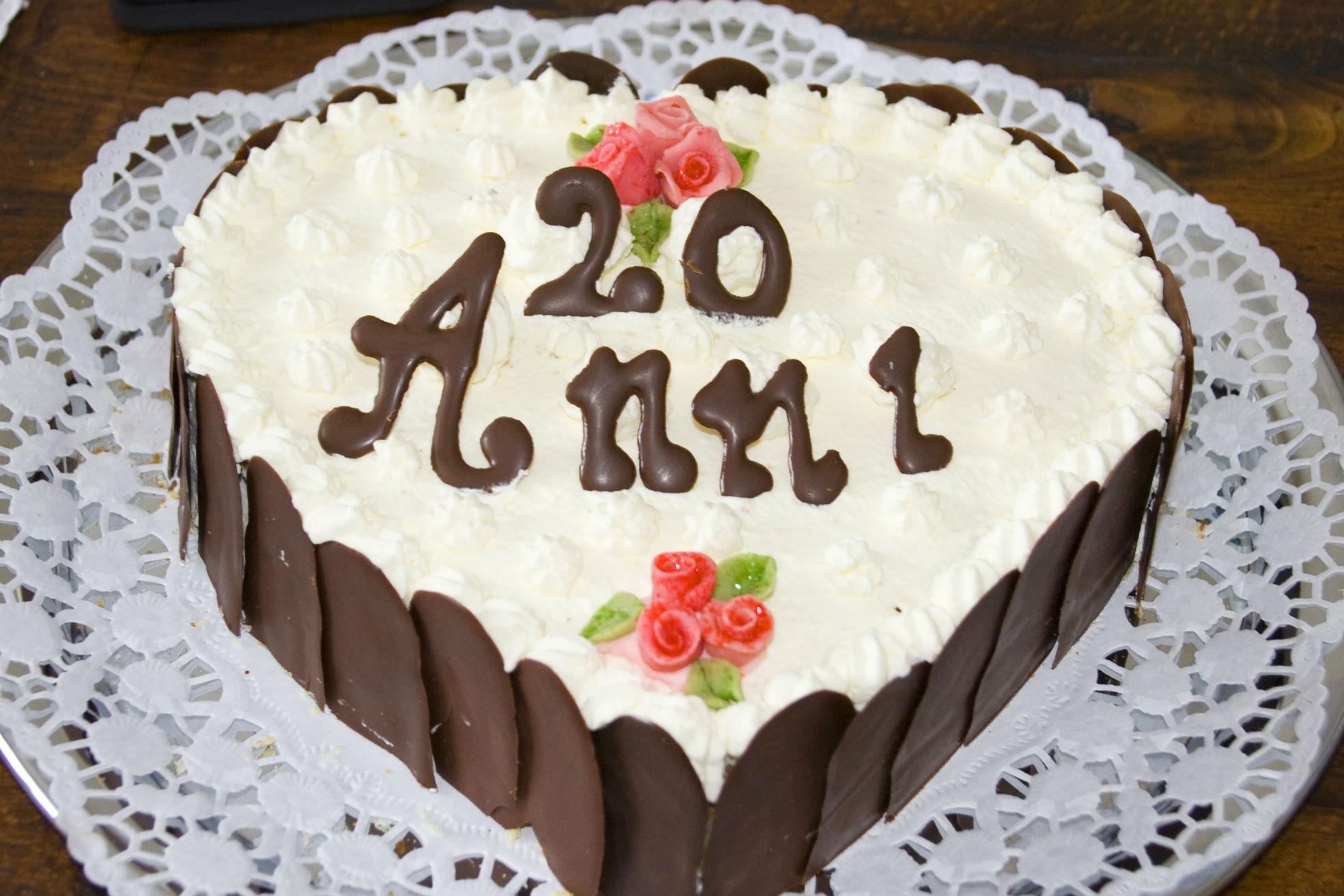 Torta anniversario per Tiziana