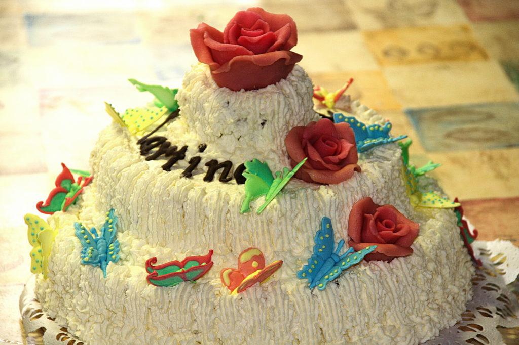 Torta farfallina 2