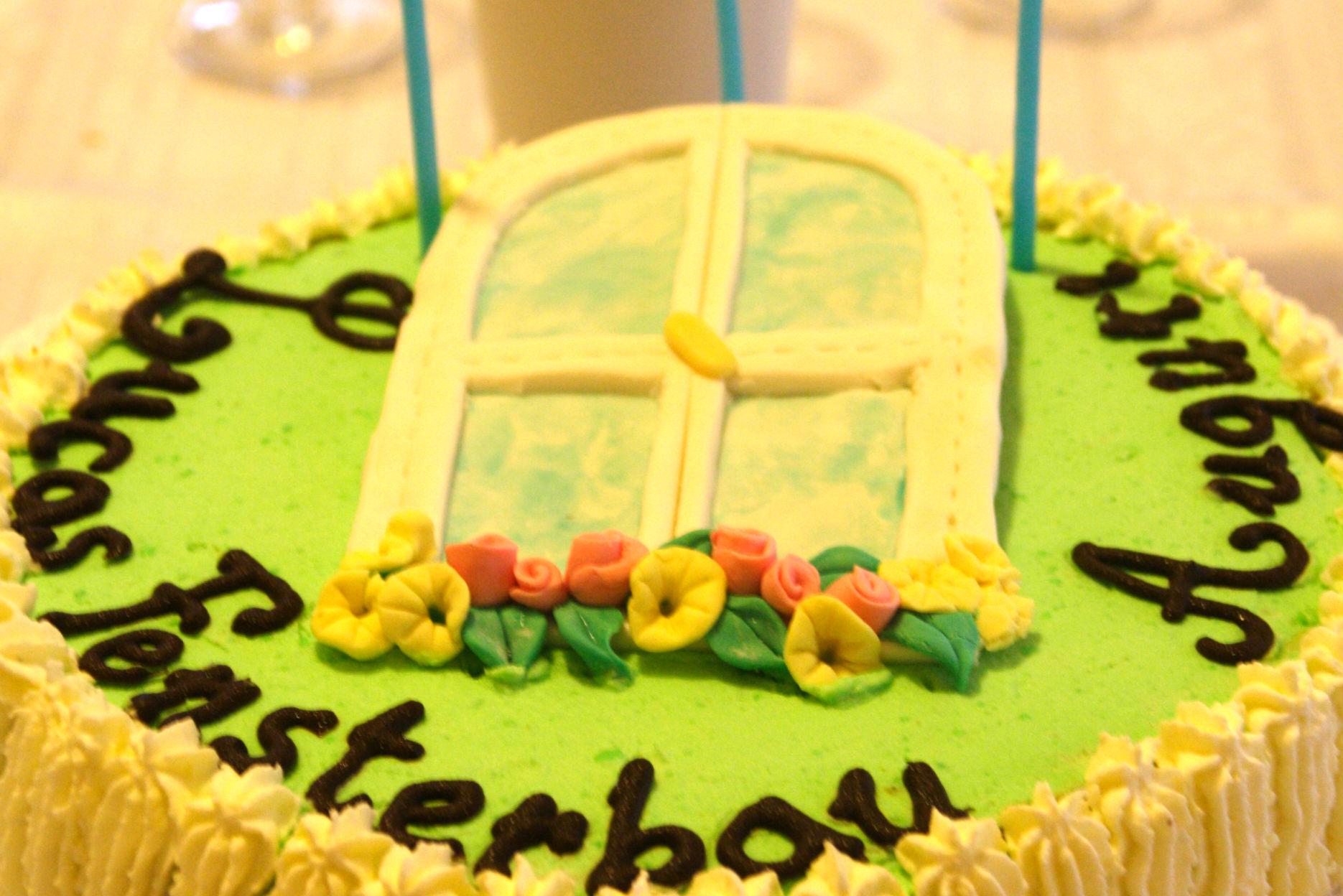 """Torta """"Fensterbau"""" 1"""
