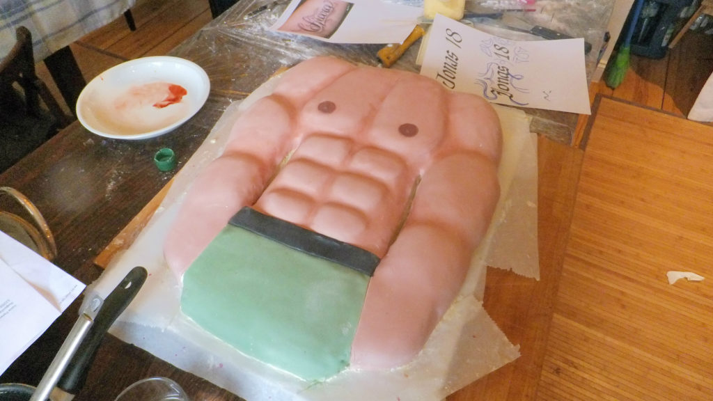 Torta Mister Muscolo 4