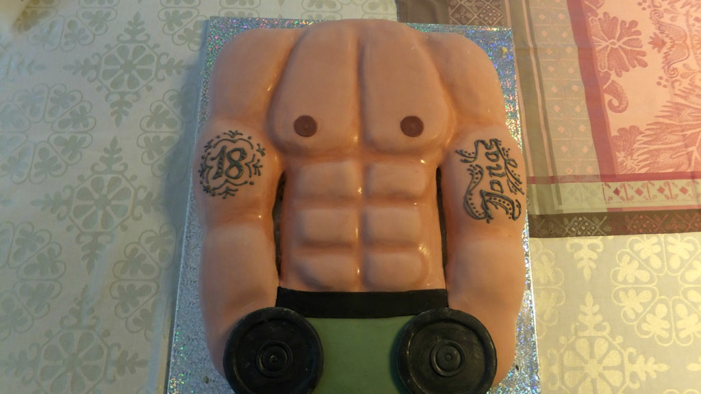 Torta Mister Muscolo 5