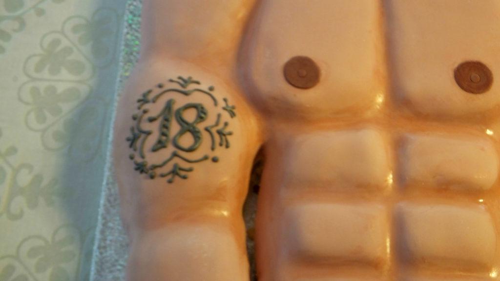 Torta Mister Muscolo 6