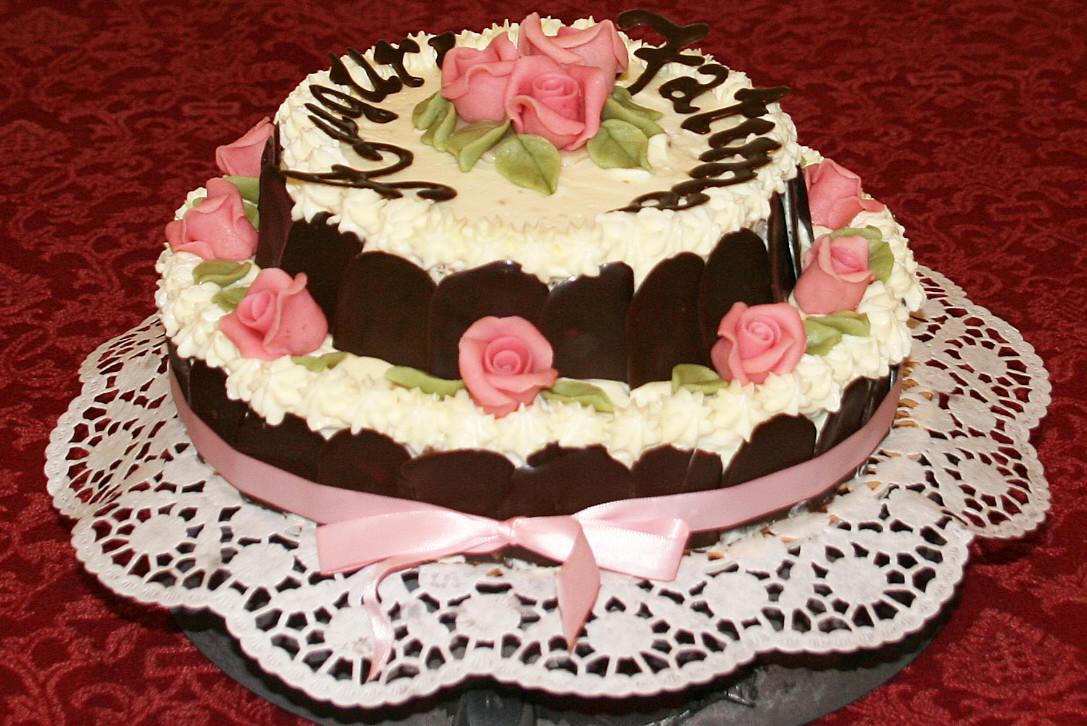 Torta per Fatima
