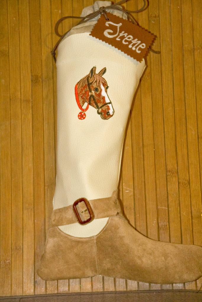 Calze della befana cowboy