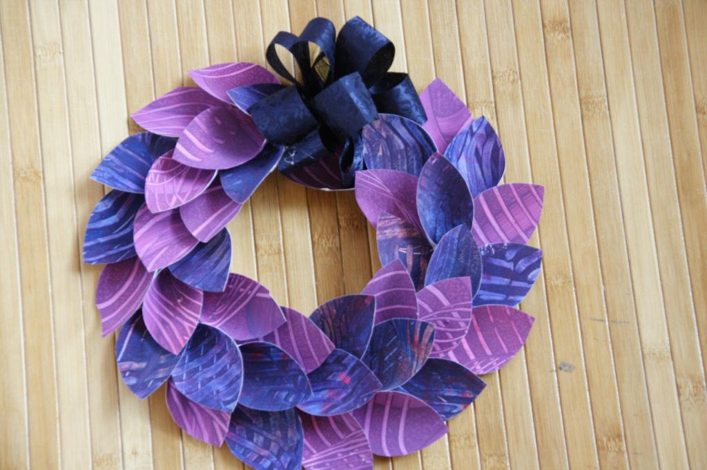 Mercatino della scuola decorazioni natalizie in materiale riciclato 02