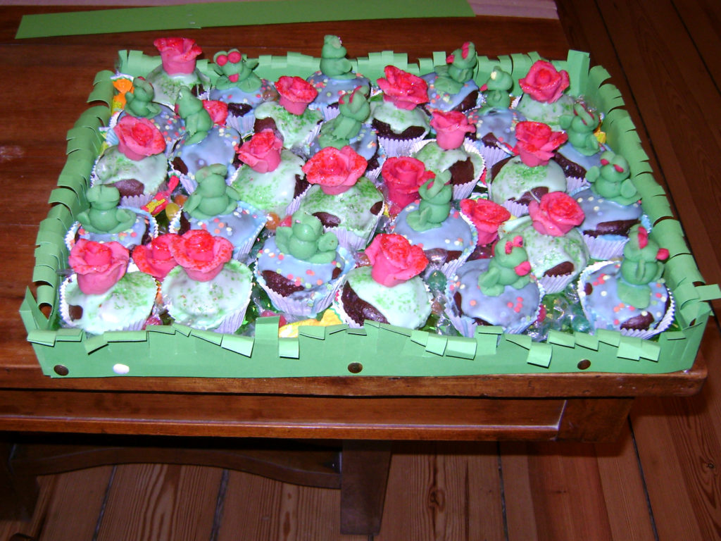 Muffins rose e ranocchi 2