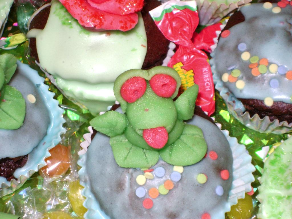 Muffins rose e ranocchi 4