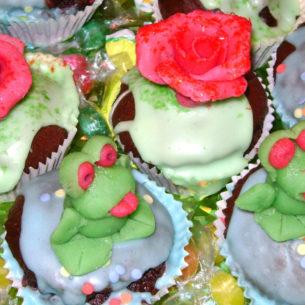 Muffins rose e ranocchi 5