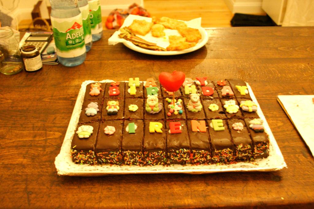 Torta cioccolato multicolore 2