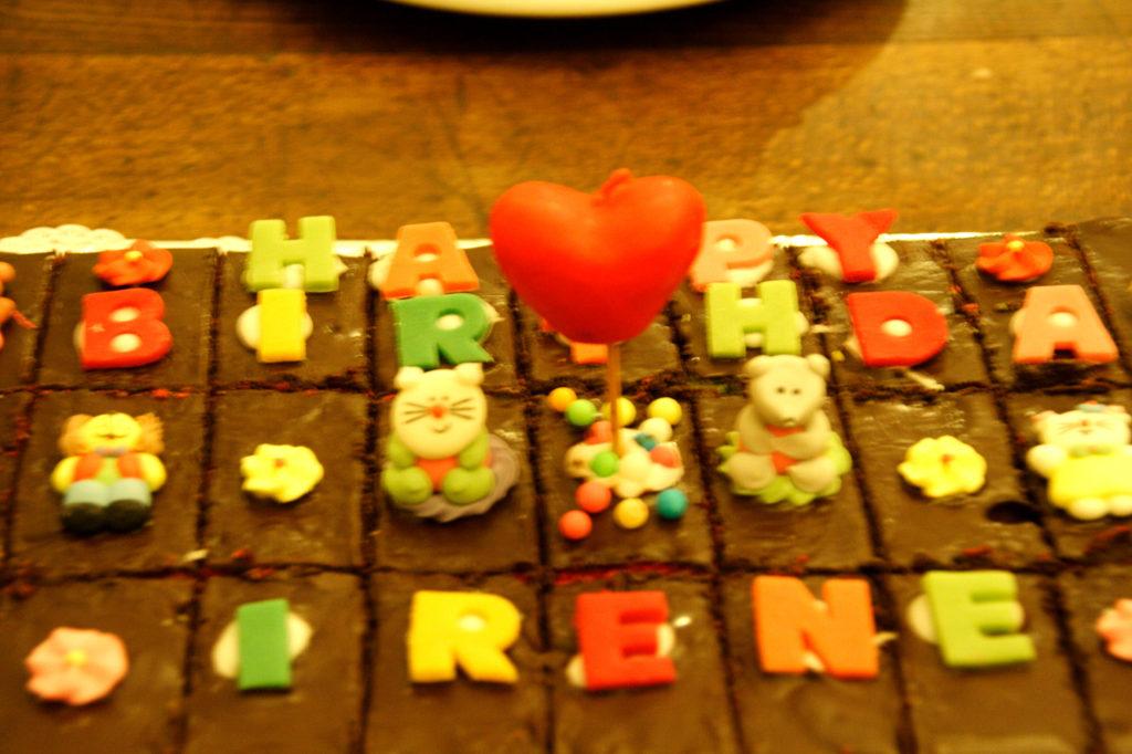 Torta cioccolato multicolore 3