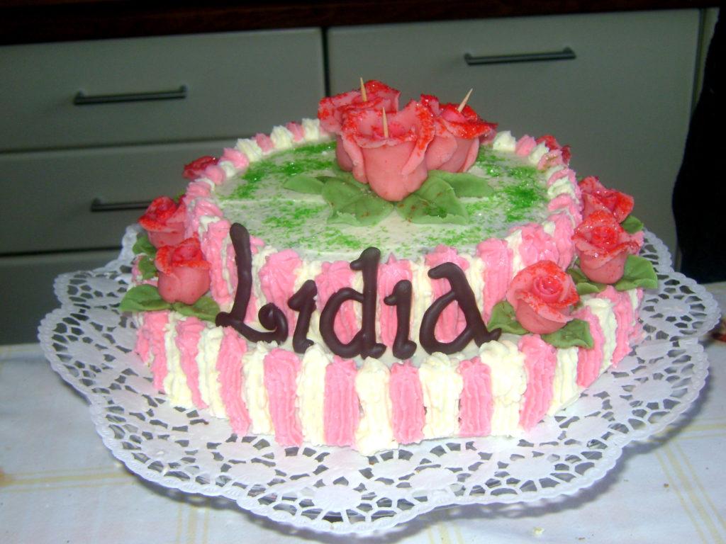 Torta di rose per Lidia