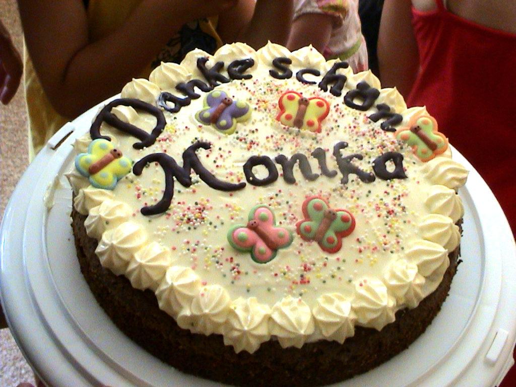 Torta per Monika