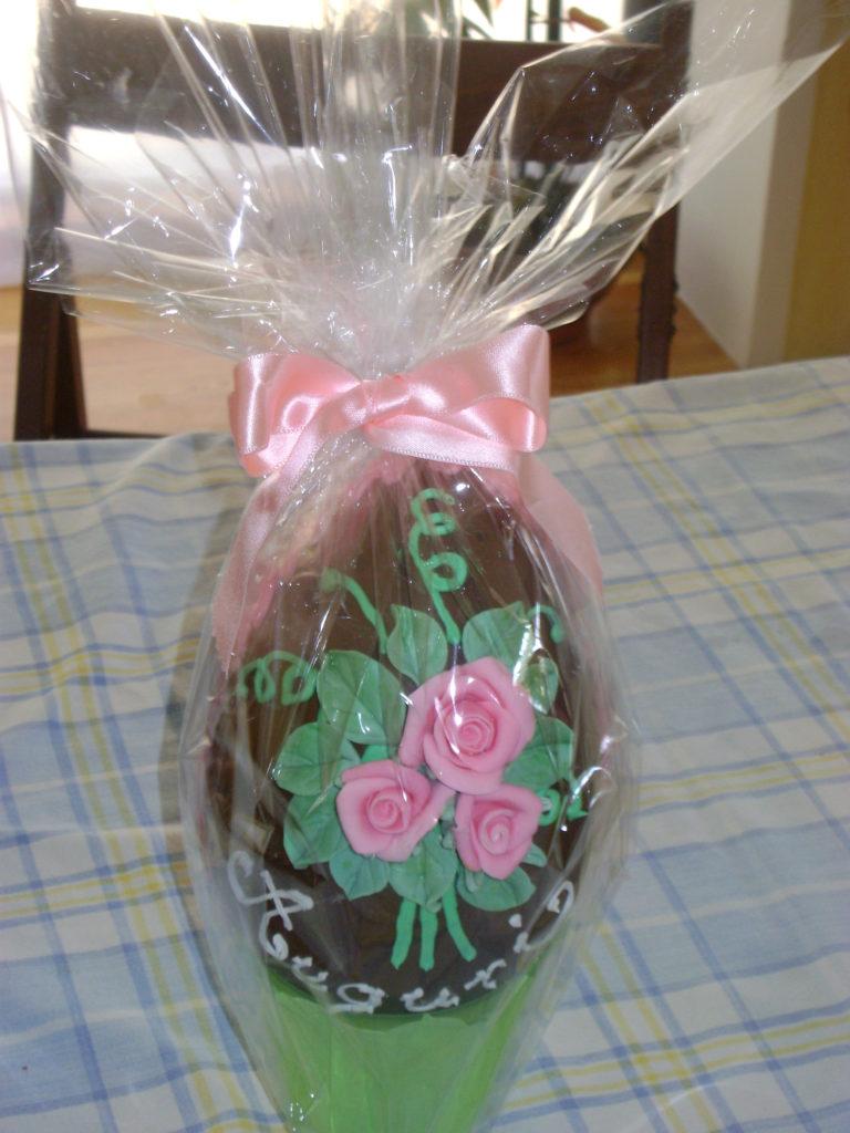 Uova di cioccolato decorate 2