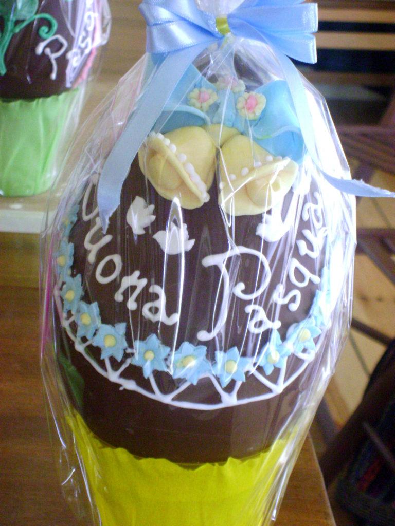 Uova di cioccolato decorate 7