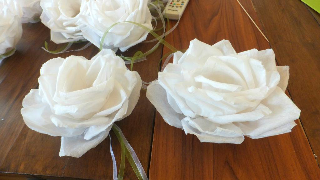 Fiori decorativi per candele 02