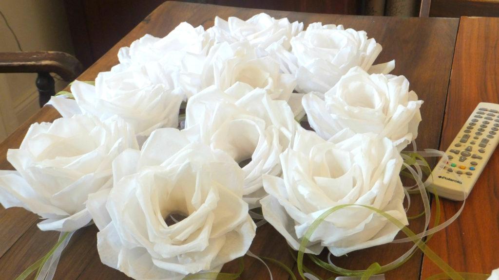 Fiori decorativi per candele 03